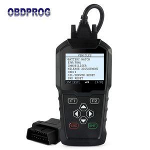 OBDPROG MT006 For Seat Golf Audi Skoda Mileage Programmer Professional IMMO Code Reader Odometer Correction Car Diagnostic Tool