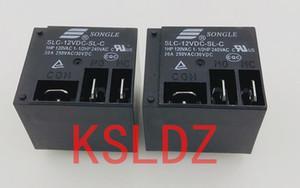 Свободная перевозка груза много (10pieces / серия) 100% первоначально новый SONGLE SLC-12VDC-SLC SLC-24VDC-SLC 5Pins 12V 24V 30A250VAC питания реле