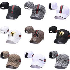 designer hats men and women baseball cap couple wild hip-hop trend hard top curved eaves sun hat