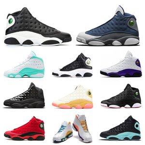 nike air jordan retro 13 flint jumpman 13s hommes femmes chaussures de basket-ball 13s Reverse He Got Game Playground Barons Dirty Bred Playoffs mens sport sneaker trainer 5.5-13