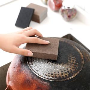 Nano Emery Descalcificação além do fundo da panela, a esponja de areia fina manchada esfregada com magia para limpar a cozinha