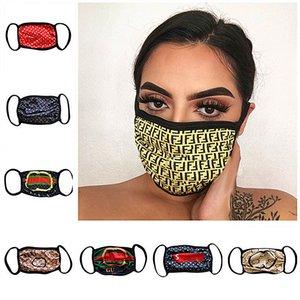 Luxury Designer Face Masks Letter Print Women Protective Mask Ultraviolet-proof Dustproof Riding Cycling Mouth Masks Washable Masks Top Sale