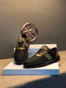 zapatos de diseñador para hombre Black Suede Gazelle lace with overlay of gold jogging DE luxe top quality casual shoes#2F
