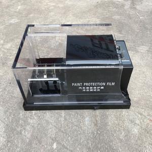 Negro TPU PPF Films Rasca y pruebas de pintura de alta calidad del coche Película de protección Gravelómetro prueba de la máquina MO-620