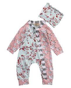 Marca de ropa para bebés Pijamas Bebé recién nacido Mamelucos Animal Infantil de algodón de manga larga Monos Niños Niña Primavera Otoño Ropa