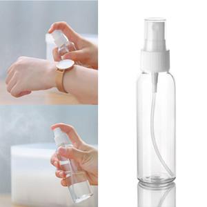 100ML Portable vide Parfum Vaporisateur Refillable Voyage Conteneur plastique cosmétique Bouteille vide Bouteille de pulvérisation en plastique transparent