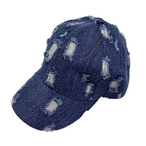 New arrived 2020 hole denim kids hats girls hats boys hats fashion kids baseball hat boys peaked cap girls cap B1164
