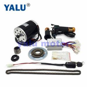 24-48V 500-1000W Motorino elettrico Motore elettrico bici a cinghia MY1020 ad alta velocità del nastro Motorino kit di conversione