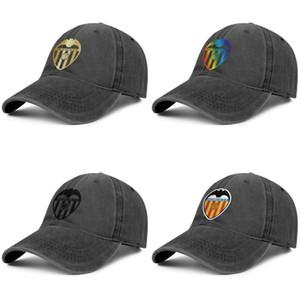 Valencia CF Los Ches VCF hommes design Vintage Denim de femmes casquette de pêche lavage réglable chapeaux de Flash Travel or série arc-en-Gay pride