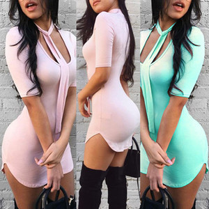 Newest Dress Sexy Fashion Women Square Collar With Lace Half Sleeve Bodycon Party Evening Mini Pencil Dress Club Wear
