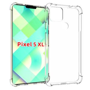 hakkında Piksel 5 XL, Piksel 4A PİKSEL 3 3A 4 XL için sağlam Tampon TPU dört köşe koruyucu yumuşak muhafaza kapağı