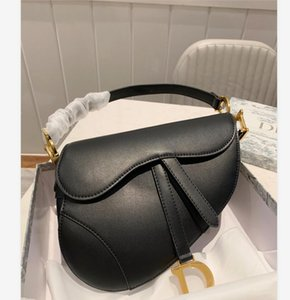 2020 hot sale Retro Saddle Handbag Insert Buckle Genuine Leather Bag Shoulder Messenger Bag Flap Crossbody Bag Strap Shoulder Handbag lan12