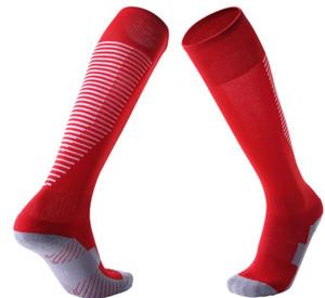 antiscivolo per bambini popolare adulto sopra i calzini di calcio del ginocchio addensato asciugamano calzini inferiori lungo tubo comodo sport resistenti calze di fitness