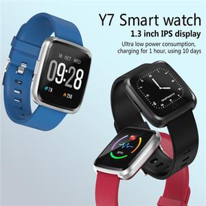 Y7 Bluetooth Smart Watch Fitness Sleep Sports Tracker Multiple Sports Mode Wristbands Waterproof Multifunction Smartwatch