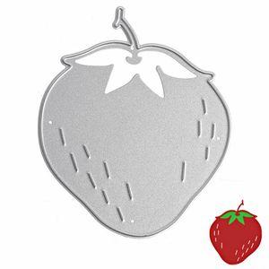 الفراولة قطع يموت المعادن الاستنسل DIY سجل القصاصات بطاقة البوم ورقة النقش الحرف يموت قطع الفاكهة