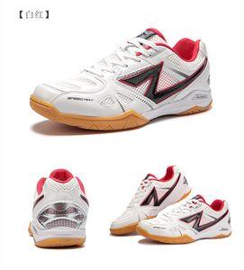 Пинг-понг Обувь Нескользящие Мужская спортивная обувь дышащая Профессиональные Настольный теннис Обувь износостойкое Мужская обувь-For-Table-Tennis