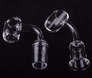 4mm Thick 10mm 14mm 18mm Quartz Nail 45 90 Degrees 100% Pure Quartz Banger Nail Domeless Nail Smoking Bowl