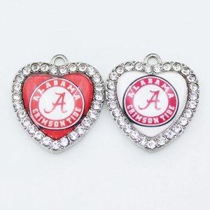 NCAA Alabama Crimson Tide Team Sport Charms baumeln Hängende Charms DIY Armband Halskette Anhänger Schmuck Zubehör Amerika Charms