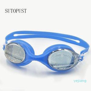 luxury- Adult optical swimming goggles professional Anti-Fog Men Women Teens Swim water Sports Eyewear Waterproof dioptric glasses