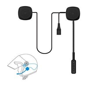 Professional Handsfree Wireless Bluetooth Motorcycle Helmet Earphone Headphone With Mic For Suzuki Honda CBR Benell hp4i Moto