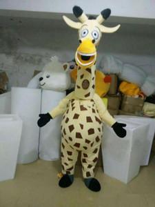 2019 высокое качество горячие жираф талисман костюмы реквизит костюмы Хэллоуин бесплатная доставка