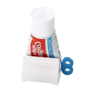 Convenient Toothpaste Rolling Tube Toothpaste Squeezer Stand Holder Bathroom Accessories