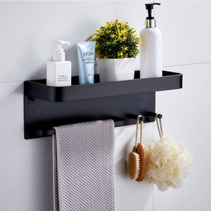Bad Racks Schlags frei Multifunktionales Aluminium Badezimmer Körperpflege Storage Rack Wandregal-Rack