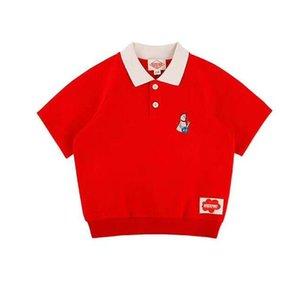 Enkelibb Fashion Boys 여름 티셔츠와 바지 Baby Bebe Kids Tops Number 25 Active Style Shirt 레드 컬러 아동 J190529