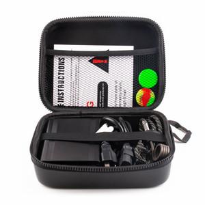 2019 Mais Novo Quartz E prego Enail kits caixa de controle de temperatura elétrica dab 20mm bobina heate 14mm masculino Quartz banger para dab rigs