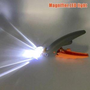 Prego Cat Dog Pet prego Clippers Trimmer com LED Dog Cat Luz moedor elétrico moedor Scissors Limpeza Beleza Higiene