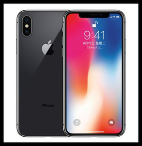 Refurbished Original iPhone X Mit Face ID 64GB 256GB 4G LTE Handy 5.8 '' 12.0mp entriegeltes Mobiltelefon