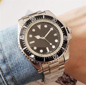Luxus-Männer mechanische automatische Uhr GMT Edelstahl Kalender Luminous Sport Wasserdichte Designer-Uhr-Qualität