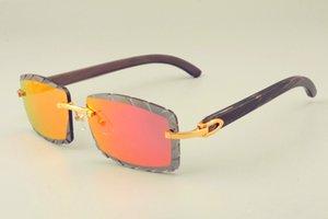 2019 جديدة البيع المباشر الشحن مجانا عدسة النظارات الشمسية الساخنة 8300915 الطبيعية قرون نمط الأسود أيضا النظارات والمظلات للجنسين الماس الفاخرة،