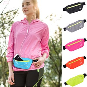 Neutral Pure Color Water Repellent Nylon Messenger Bag Chest Bag Waist Bag Fashion Design Drop Shipping S20 35