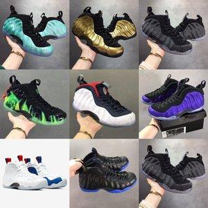 2020 Nuevo Penny Hada Zapatos de baloncesto Baloncesto Elemento Rose Rose Galaxy Legión Green Berenjena Maroon Foams Atlético Deporte Zapatillas 40-47