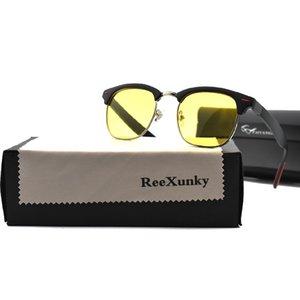 Night Vision Glasses Men Polarized Goggles For Car Driving Sunglasses Anti Glare
