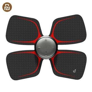 Xiaomi original Leravan LF-H105 cuatro ruedas Masaje etiqueta engomada mágica eléctrica masajeador eléctrico estimulador muscular cuerpo se relaje Y200506