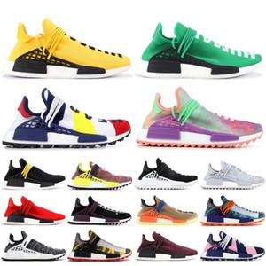 specie infinite NMD economici Uomini razza umana scarpe da corsa Pharrell Williams giallo BBC Specie nera delle donne formatori Sport scarpe da ginnastica