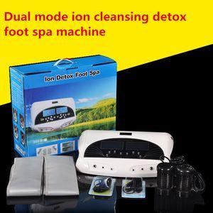 ЖК-дисплей Dual Ion Detox нога машина Лучшей Ионная ванна для ног очистить Spa машины с Detox массивом и пихта пояс здравоохранением