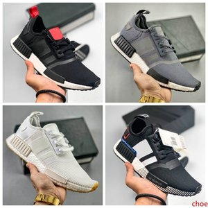 2019 NMD R1 Primeknit PK Perfect Nmd Runner off Running Shoes Women Men Black White High Quality Sneakers Brand Originals Trainers Shoes