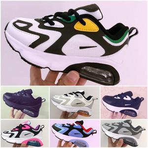 Nike Air Max 200 Classique Runners Chaussures de course pour nourrissons Enfants Top qualité filles de garçon Chaussures Baskets enfant en bas âge des jeunes Taille 28-35