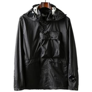 Topstoney 2020SS CP konng gonng capucha empresa de moda capa ocasional La primavera y el otoño gafas Europea y la chaqueta delgada de los hombres americanos de la calle