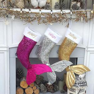 3 color del paño de Navidad Bolsa de regalo media de la Navidad delicado Chimenea Decoración Año Nuevo Hermoso gran mercado Adornos