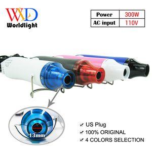 110V 300W Electric Hot Air Blower Heat Gun воздуха Профессиональные сжиматься для сварки пластиковых Терморегулятор отопления пистолет с США Plug