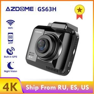 Car DVR Dash Camera AZDOME Wifi Night Vision Dashcam GS63H 4K Car Parking Monitor Dash Cam Vehicle Rear View Camera Dual