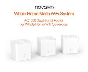 MW3 беспроводной маршрутизатор для Whole Home Wi-Fi Покрытие WiFi Система беспроводного моста, APP Remote Управление