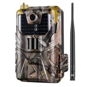 Hc-900Lte 4G Hunting Camera 16Mp 940nm Trail Camera Mms Sms Smtp Ftp Ip65 Wild Camera 44 Led(Us 4G)