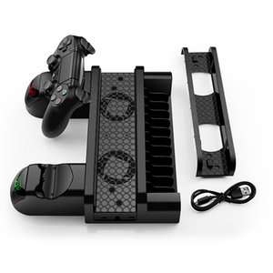 다기능 빠른 관제사 충전기 대 직업 PS4/PS4 호리호리한/PS4 를 위한 수직 냉각 장치 홀더 충전소 선창