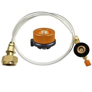 Открытый Кемпинг Газовая плита Пропан Запасной адаптер Tank ответвитель адаптер Газ зарядки Принадлежности K350G