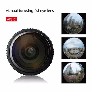 6.5mm F / 2.0 APS-C Sony NEX-5N 용 수동 초점 어안 렌즈 NEX-7 NEX-F3 NEX-5R NEX-6 NEX-3N A3000 A7 A7R A5000 + 선물